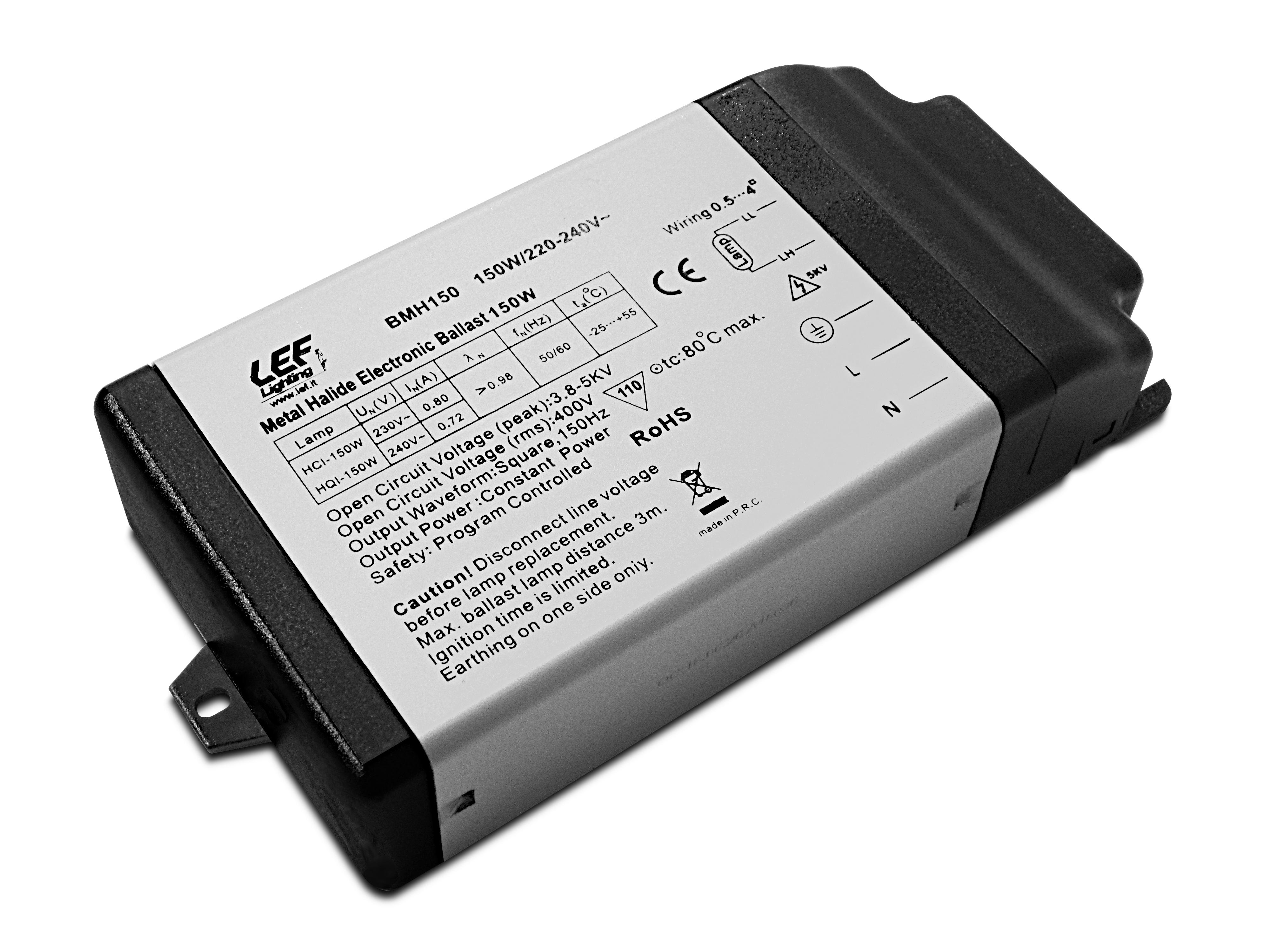 ALIM. EL. X LAMP SCAR 150W CL2 181X90X39